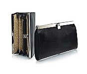 Cate Accordian Leather Wallet in Analine Leather