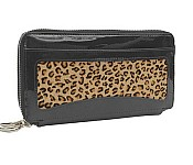 Tusk Savanah Double Zip Clutch PF443