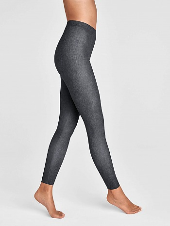 Taylor Cropped Soft Denim Leggings