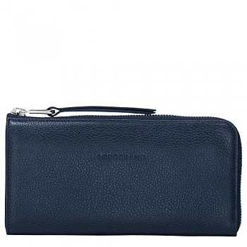 Le Foulonne Long 3/4 Zip Around Wallet