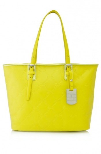 LM Cuir Medium Shoulder Tote
