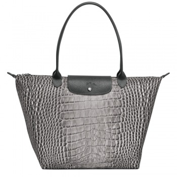 Le Pliage Croc Collection Large Shoulder Tote NEW FALL 2018