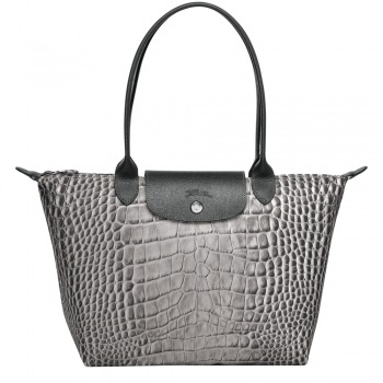 Le Pliage Croc Collection Medium Shoulder Tote New Fall 2018