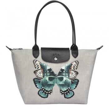 Le Pliage Papillon Medium Shoulder Tote