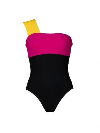 d100789d2e Karla Colletto   Marcella One Shoulder Swimsuit with Shelf Bra 355-N70    Bagshop.com
