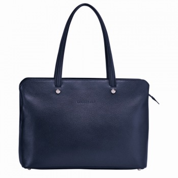 Le Foulonne Zippered Shoulder Tote Bag DISCONTINUED