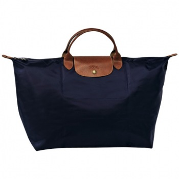 Le Pliage Large Top Handle Folding Tote