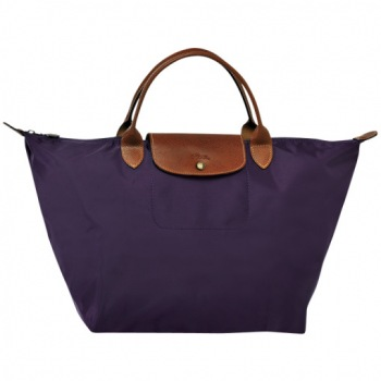 Le Pliage Medium Top Handle Folding Tote Colors on Sale