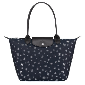 Le Pliage Etoiles Large Shoulder Tote