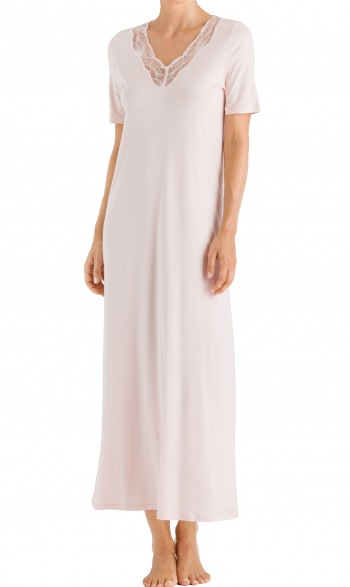 Valencia Short Sleeve Long Gown