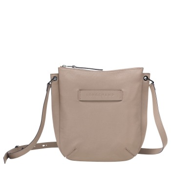 Longchamp 3D Flat Crossbody Bag