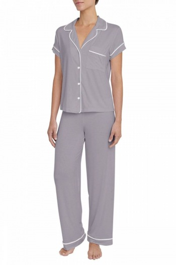 Gisele Short Sleeve Long Pant Pajama Set
