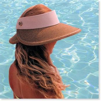 Eric Javits Hats Summer Hats Halo Visor - Bagshop.com b035721777a