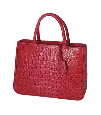 Practica Baby in Croc Embossed leather