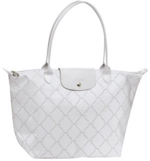 LM Metal Large Shoulder Tote