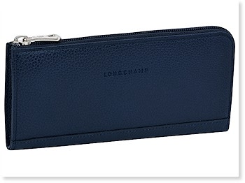 Longchamp Veau Foulonne All in One Wallet