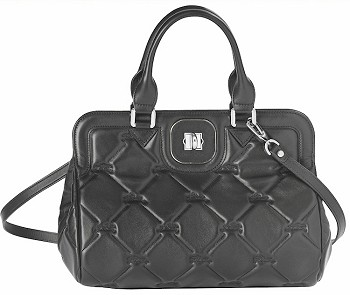 Gatsby Matelasse Handbag with Shoulder Strap