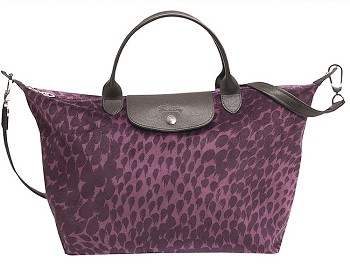 Le Pliage Plumes Medium Handbag