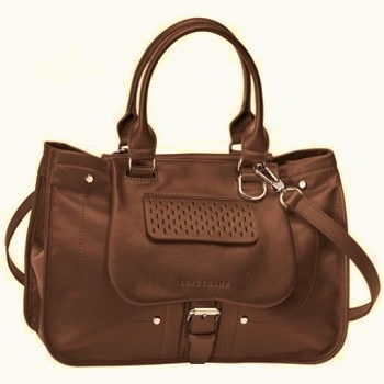 Balzane Roots Handbag in Dark Brown