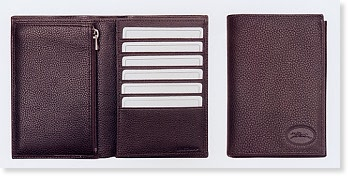 Le Foulonne Indexer Wallet with Credit Card Slots