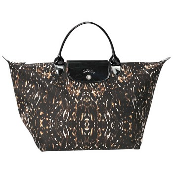 Le Pliage Fauve Medium Top Handle