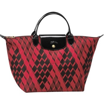 Le Pliage Losange Medium Top Handle Handbag