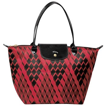 Le Pliage Losange Medium Shopping Bag