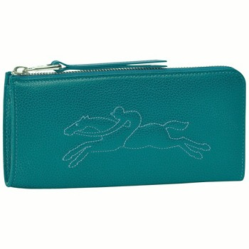 Veau Foulonne Zip Around Wallet New Spring 2014