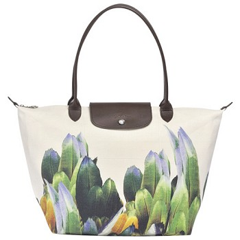 Tribu Longchamp Toile Large Shopping Tote