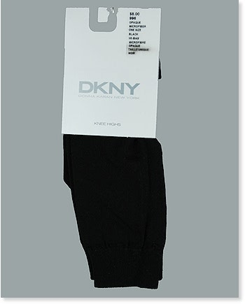 Opaque Microfibre Knee High 996