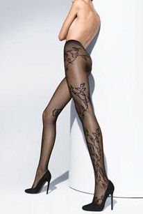 Baroque Flowers Tights