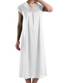 Moments Capped Sleeve Long Gown