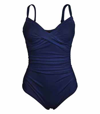 Karla Colletto Molded Cup One Piece Swimsuit  BA 150