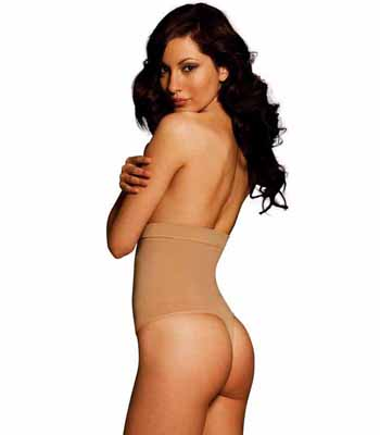 The Pin Thin - High Waist Thong 44841
