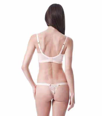 Mimi Holliday Neopolitan Silk Hipster Thong AW14-118