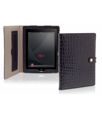 iPad Tabbed Folio with Easel in Mosaic Leather