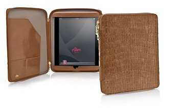 iPad Zippered Folio Newbury Crocco