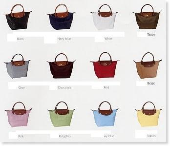 Tassen Longchamps