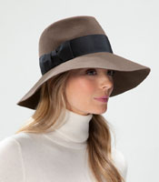 Tiffany Fur Felt Velour Hat : 9407