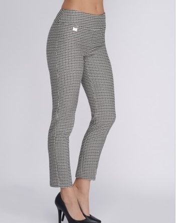 Ankle Pant In Cloverleaf Jacquard Style 5701