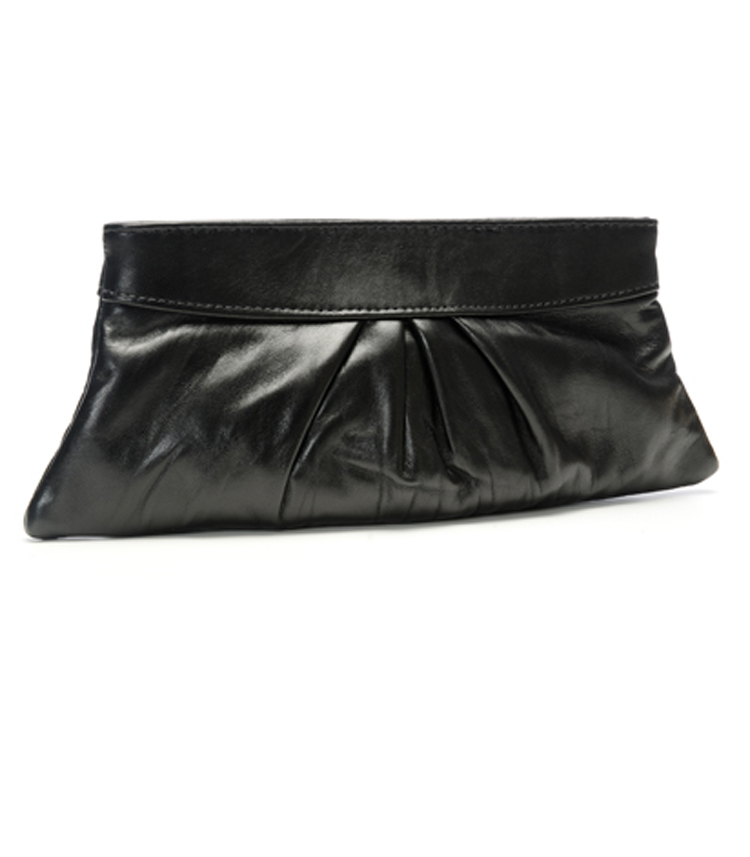 Eve Lamb leather Clutch