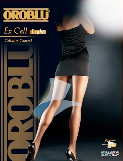 Ex Cell Sheer Cellulite Control Tights