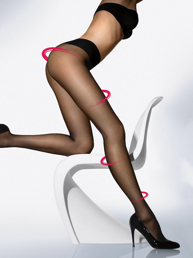 8bdb3e8d9 Wolford Hosiery Sheers Individual 10 Leg Support - Bagshop.com